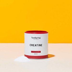 foodspring Poudre de Créatine, 150g, Accélère le développement musculaire, Fabriqué en Allemagne