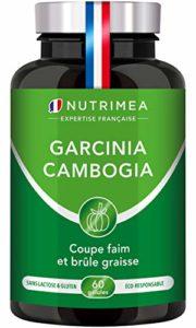 GARCINIA CAMBOGIA NUTRIMEA PUISSANT COUPE-FAIM ET BRULE GRAISSE NATUREL , 60 gélules de 500 mg 100% végétales , Complément idéal de votre régime