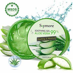 Gel Aloe Vera Bio 100%, Gel Hydratant, Gel d'Huile de Contrôle d'Acné, Produits de Soins de la Peau, Masque Aloe Vera, Peau Soin Naturel