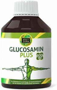 Glucosamine Plus -Aquisana + Collagène + Chondroïtine + MSM | Supplément pour la santé articulaire | Os et cartilage sains | Sans allergène – Glucosamine liquide 500 ml