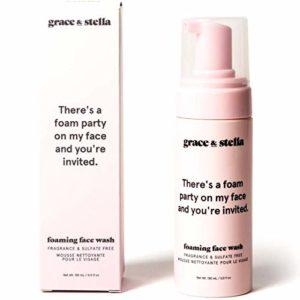 Grace & Stella Nettoyant moussant sans parfum 150 ml – Sans végétalien ni cruauté