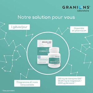 GRANIONS Co Enzyme Q10 30 Gélules