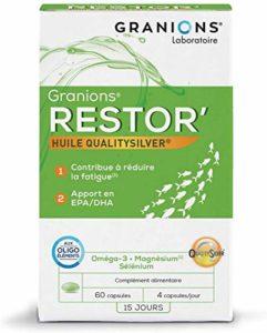 GRANIONS Restor' – 60 Capsules – 49 g