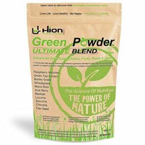 Green Powder – ULTIMATE BLEND. Super verts végétaliens, alcalins et sans gluten. Fabriqué au Royaume-Uni avec des ingrédients de la plus haute qualité ✸ La poudre ultra-pure verte pour aliments de qualité supérieure du Royaume-Uni.