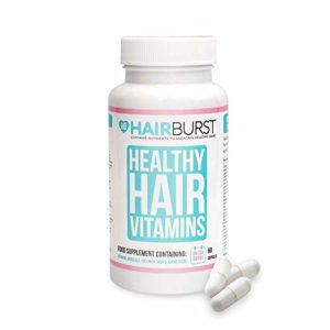 Hairburst Vitamines et Minéraux Capsules – 60 Capsules biotine croissance des cheveux