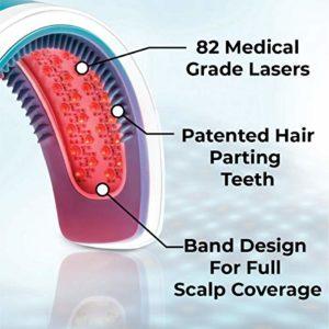 HairMax LaserBand 82 | Casque Laser contre la perte de cheveux