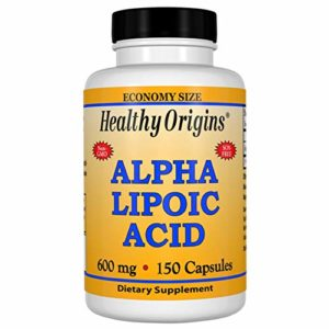 Healthy Origins, Acide Alpha-Lipoïque, 600mg x150comps