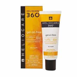 Heliocare 360 Gel Oil Free Dry Touch Visage Spf50 50ml