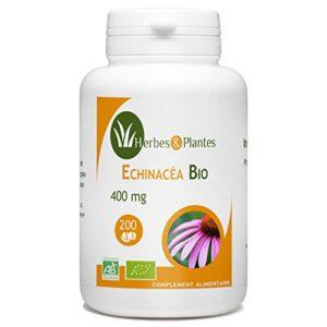 Herbes Et Plantes Echinacée Bio 200 Comprimés 400 mg