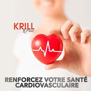 HUILE DE KRILL PURE + EPA + DHA + ASTAXANTHINE | Améliore et contrôle le cholestérol et les triglycérides | Combat le stress oxydatif | Bénéfique pour la peau, la vue et la santé cellulaire | 60U.