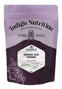 Indigo Herbs Poudre de Baies d'Açaï Bio 250g | Freeze-Dried |