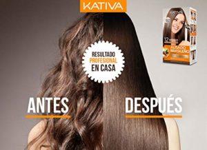 Kativa – Kit de lissage brésilien à la kératine et à l'huile d'argan