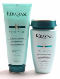 Kerastase Resistance Bain Force Architecte 250ml and Ciment Anti-Usure 200ml