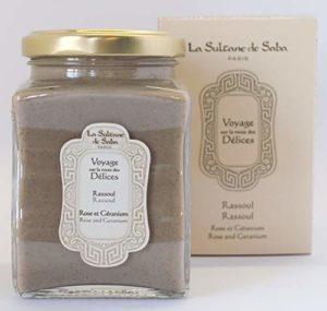 LA SULTANE DE SABA Argiles Rassoul Rose/Géranium 300 ml