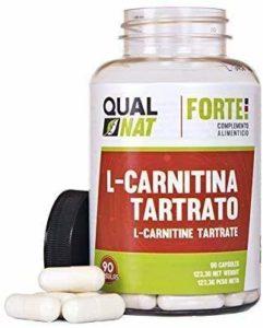 L-Carnitine pour améliorer la performance sportive – Complément de carnitine avec fonction de brûleur de graisse et d'antioxydant pour aider à la perte de poids en la combinant au sport – 90 capsules