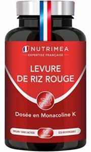 !! LEVURE DE RIZ ROUGE + CoQ10 !! Fabriqué en France • 3 mois de cure • 600 mg !! EVITEZ LES DESAGREMENTS DE LA LEVURE DE RIZ ROUGE SEULE !! 90 gélules gastro-résistantes d'origine végétale • SATISFAIT OU REMBOURSE