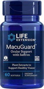 Life Extension – Appui oculaire de MacuGuard – 60Gélules