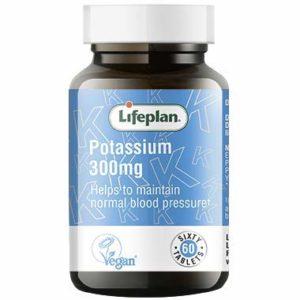 LifePlan Potassium 200mg – 60 Comprimés