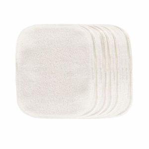Lot 10 Carrés Démaquillants lavables Eucalyptus – Les Tendances d'Emma
