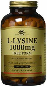LYSINE 1000MG TABLETTES 250C