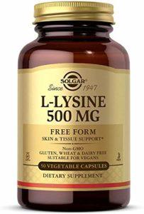 LYSINE 500MG 50 CAP