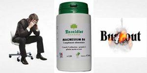 Magnésium marin et Vitamine B6 120 Gélules à 398 mg. Réduit les tensions musculaires et les crampes – Récupération plus rapide après l' effort – Fatigue nerveuse et insomnie . Exceldiet, la marque Verte.