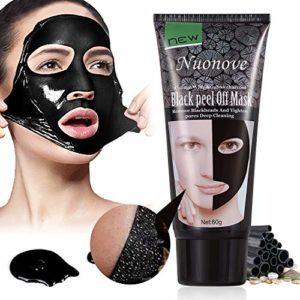 Masque Peel Off, Point Noir Masque, Masque Noir Charbon, Blackhead Remover Masque, Supprime Points Noirs/Acné pour Une Peau Pure Lisse, 60g