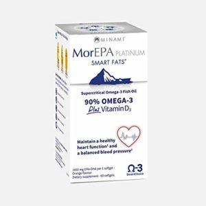 MoreEPA Platinum, Omega 3, EPA, DHA, Vitamin D, Blood Circulation, Wellbeing- 60