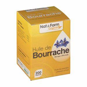 NAT & form – ONAGRE BOURRACHE – 200 capsules