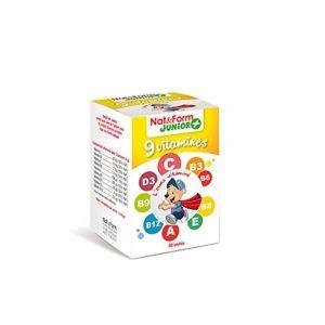 Nat&form Ours+ Complexe Vitamine Pour Enfants X30