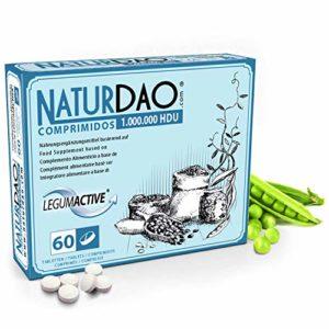 NATURDAO – 60 Comprimés – DAO VEGETAL – Carence en DAO