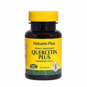 Nature s plus – Quercétine plus – 60 comprimés – Contre les problèmes saisonniers