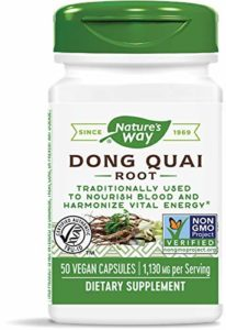 Nature's Way Dong Quai Root , 565 mg, 50 Capsules