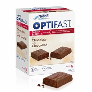 Nestle Optifast Bars 6Uds De Chocolat De 70 Gr