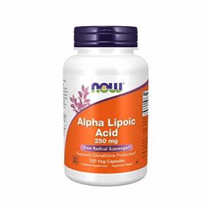 Now Foods, Alpha Lipoic Acid, 250 mg, 120 Vcaps.