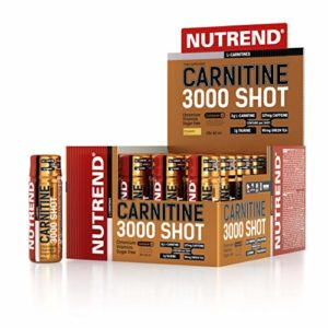 Nutrend CARNITINE 3000 SHOT 20x60ml Peniapple Sports Taurine, Caffeine, Practical monodose, Green tea extract, vitamins B1, B5 and B6, L-carnitine, taurine, chromium