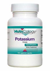 NutriCology – Potassium Citrate 120 Capsules