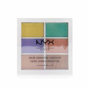 NYX Professional Makeup Palette Couleur et Correction, 6 Teintes Faciles à Estomper