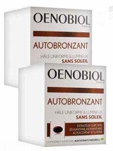 Oenobiol Autobronzant Hâle uniforme et lumineux sans soleil – Lot de 2 boites