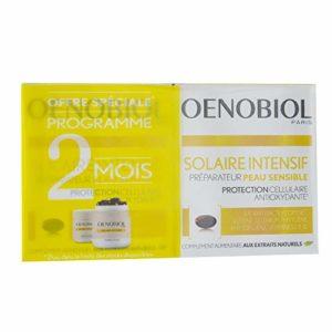 Oenobiol Solaire Intensif Préparateur Peau Sensible Lot de 2 x 30 Capsules