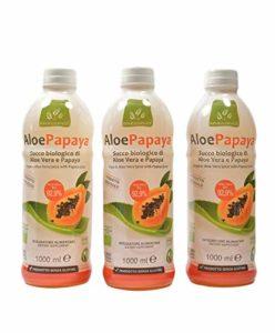 Offert 3 AloePapaya Bio Jus d'Aloe Vera et Papaya bio – 3 litre