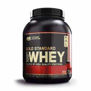 OPTIMUM NUTRITION 100% Whey Gold Standard Protéine Fraise 2.27kg
