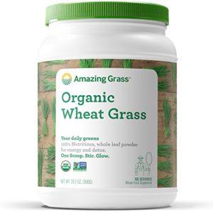 Organic herbe de blé, 28,2 oz (800 g) – Herbe incroyable
