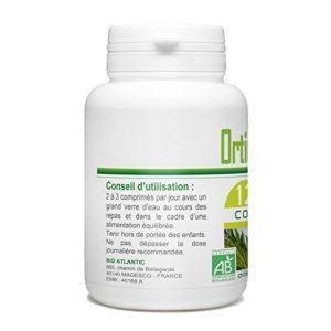 Ortie Feuille Bio – 400 mg – 120 Comprimés
