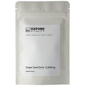 Oxford Vitality – Comprimés Pépin de Raisin EXTRA 12000mg