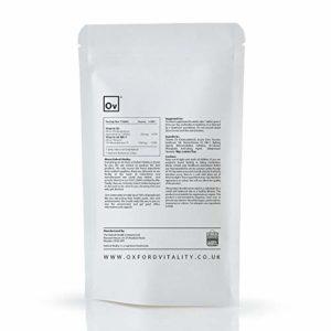 Oxford Vitality – Comprimés Vitamine D3 1000iu + K2 MK7 100mcg