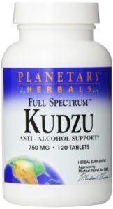 Planetary Herbals, kudzu, spectre complet, 750 mg, 120 comprimés