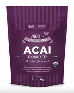 Poudre de Baies d'açai Bio (198g) by Sari Foods Co