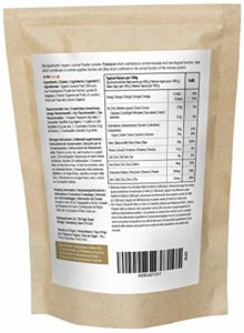 Poudre De Lucuma Biologique (500g) | MySuperFoods | Fruits péruviens au goût sucré naturel | Élevée en protéines, calcium et phosphore | Certifiée biologique par la Soil Association