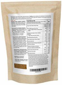 Poudre De Maca Bio (500g) | MySuperFoods | Riche en nutriments sains | Ancienne nourriture santé du Pérou | Délicieuse saveur maltée | Certifiée biologique